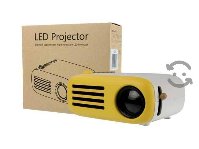 Proyector 1080p con batería interna