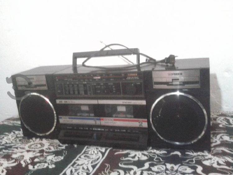 Radio grabadora fisher funciona perfecto $ 130