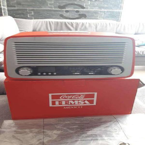 Radios coca cola retro bateria recargable nuevos