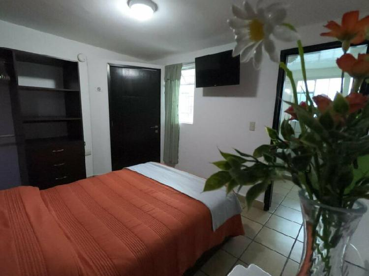 Rento habitaciones con servicios plaza dorada puebla
