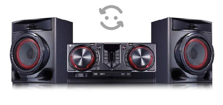Sistema de sonido lg xboom cj-44