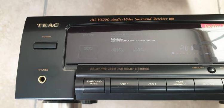Teac ag-v4200 receptor de audio y video surround