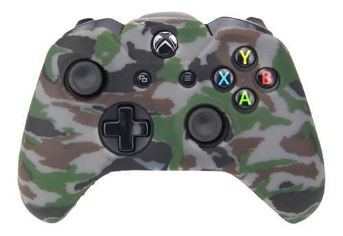 Xbox one funda silicon control camuflaje silicona + grips