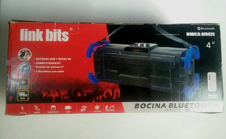 BAZOOKA RFR025 LINK BITS BOCINA BLUETOOTH segunda mano  Bustamante-Nuevo Leon (Nuevo Leon)