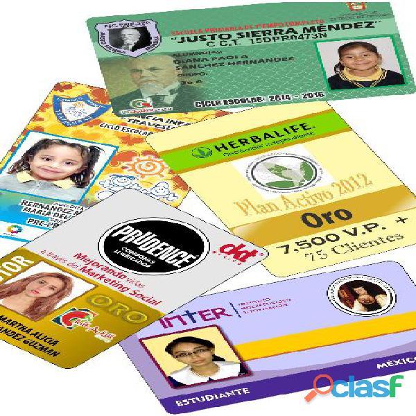Credenciales de pvc para todo tipo de negocios