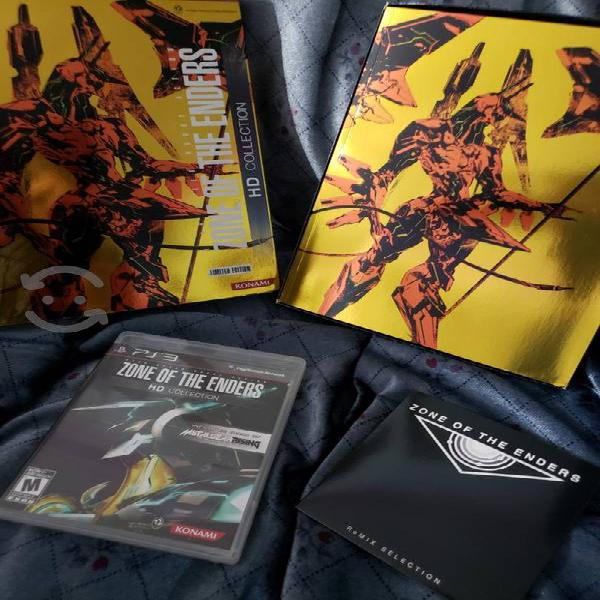 Zone of th enders hd para ps3