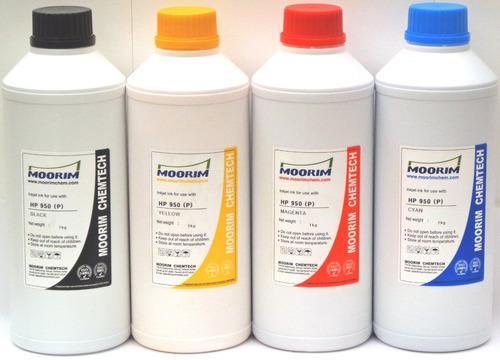 4 litros de tinta marca moorim pigmentada compatible con hp