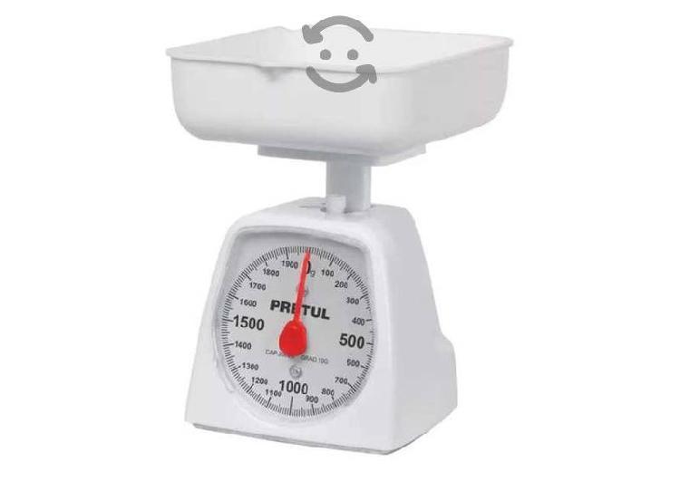 Bascula de cocina mecánica para 1 kg fácil lectura