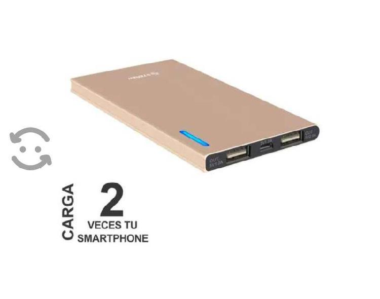 Batería de respaldo power bank para smartphones de