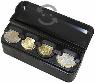 Caja de monedas para auto , coche y officinas