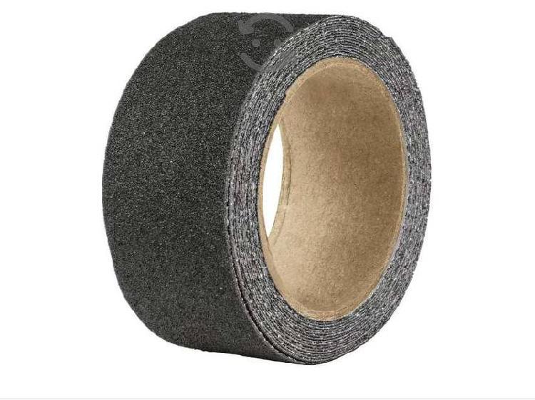 Cinta antiderrapante adhesiva en rollo 5 cm negra