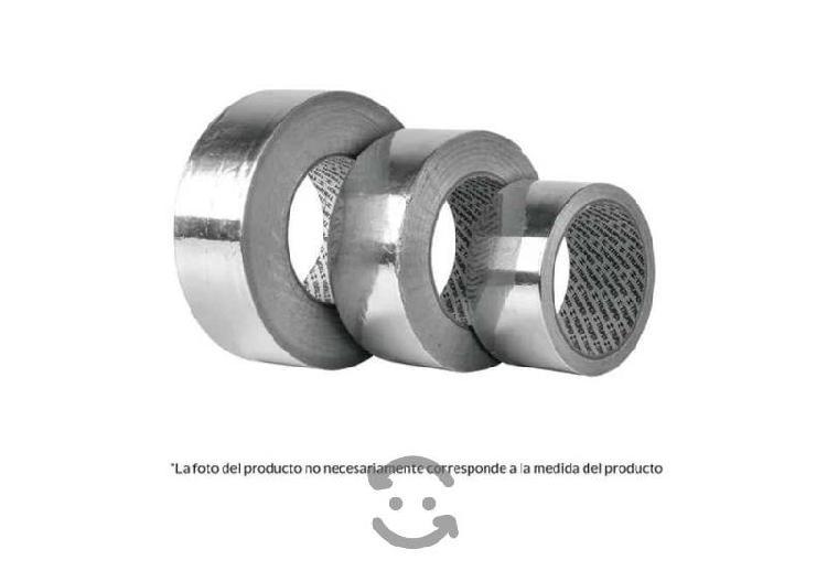 Cinta de aluminio con pegamento 48 mm x 50 m flexi