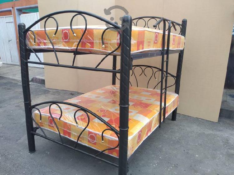 Estupenda cama matrimonial doble separable