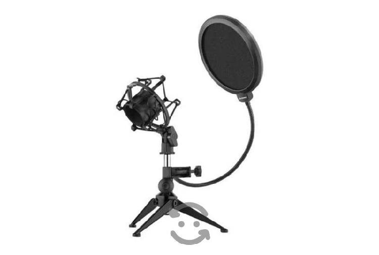 Filtro anti pop para microfono profesional flexibl