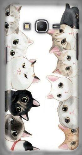 Funda gatitos gatos gato gatito animales arte dibujo case