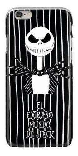 Funda protector case iphone galaxy extraño mundo de jack 2