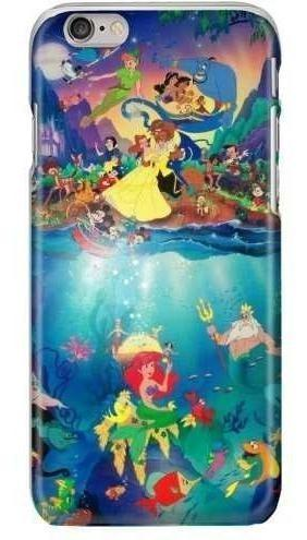 Funda protector galaxy iphone disney personajes cell fun