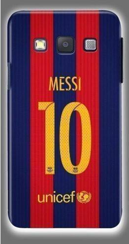 Funda protector samsung iphone f.c. barcelona messi futbol