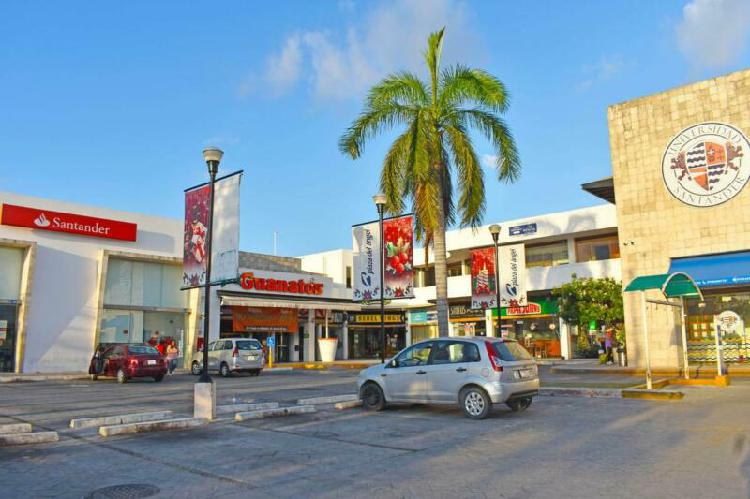 Local comercial en renta avenida la luna cancun