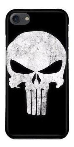 Protector funda case galaxy iphone punisher marvel insignia