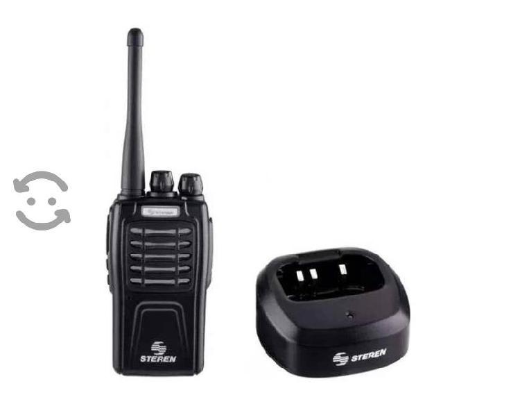 Radio intercomunicador profesional, hasta 5 km de