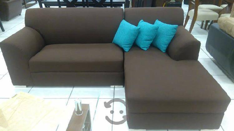 Sala esquinera tapiz lino modelo 52752
