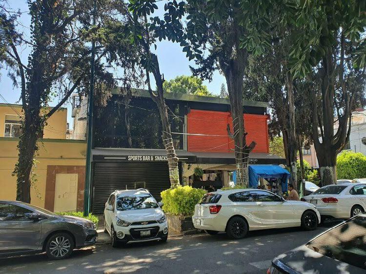 Se renta local comercial para bar en la col roma