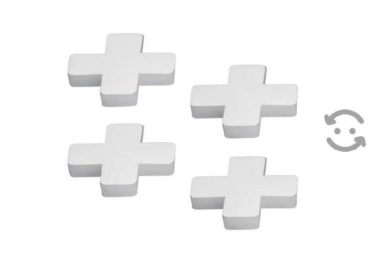 Separadores de piso azulejo 10 mm 150 pzas y 150 p