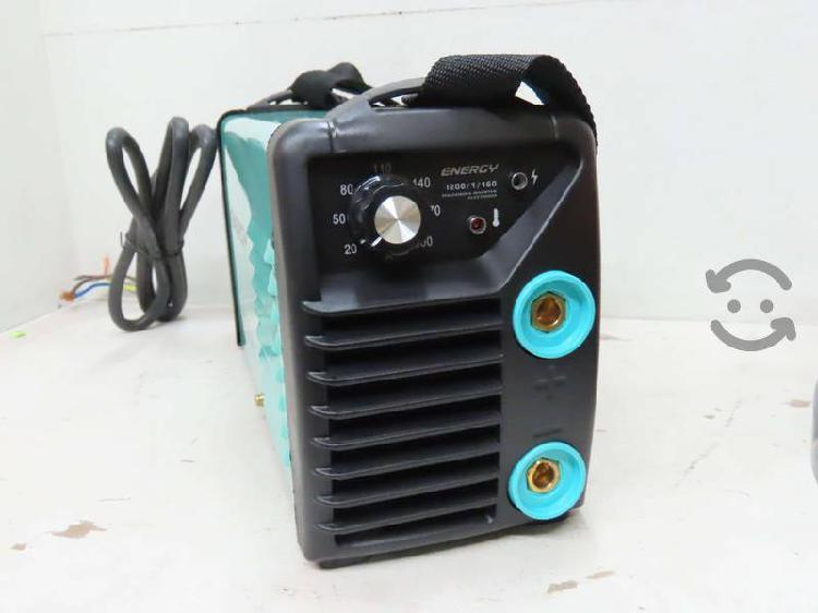 Soldadora inversor 200 amp 110/220v energy