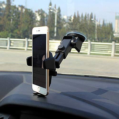 Soporte de coche para teléfono con ventosa para parabrisas