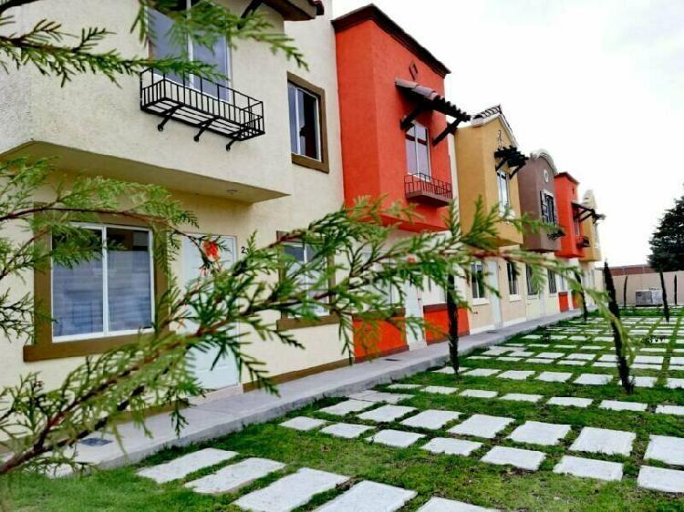 Venta de casas nuevas con 2 recamaras en puebla
