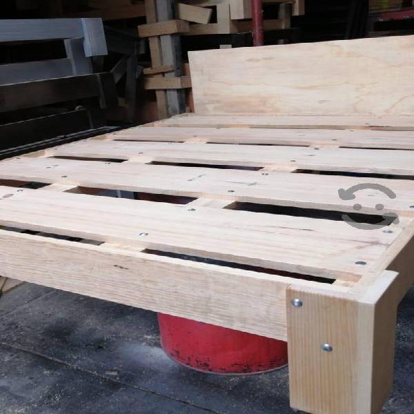 Base cama queen size armable carga hasta 400 kilos