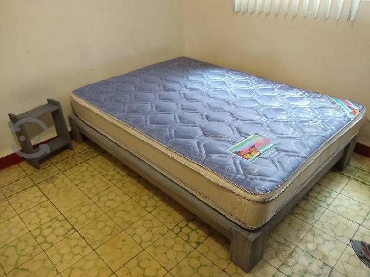 Base cama y colchón envío gratis acepto tarjeta