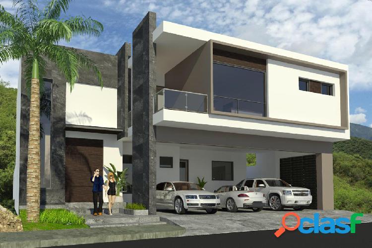 Casa en venta carretera nacional portal de valle alto mty n.l