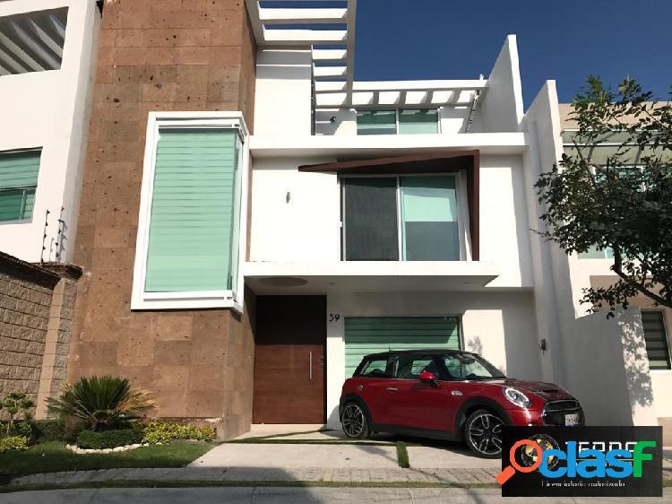 Casa en venta en parque zacatecas lomas de angelopolis 3 san andres cholula