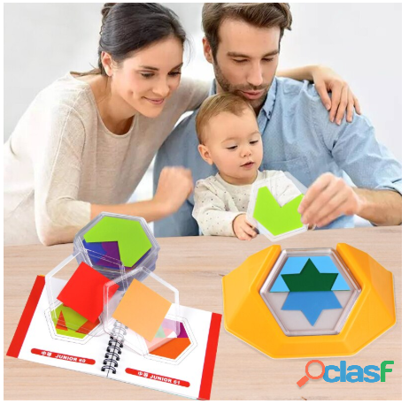 Rompecabezas juguetes para niños desarrollar habilidades de pensamiento espacial