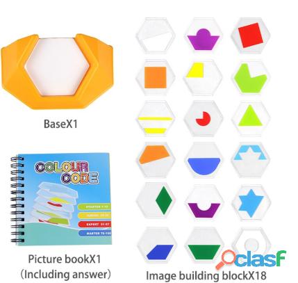 Rompecabezas juguetes para niños desarrollar habilidades de pensamiento espacial 1