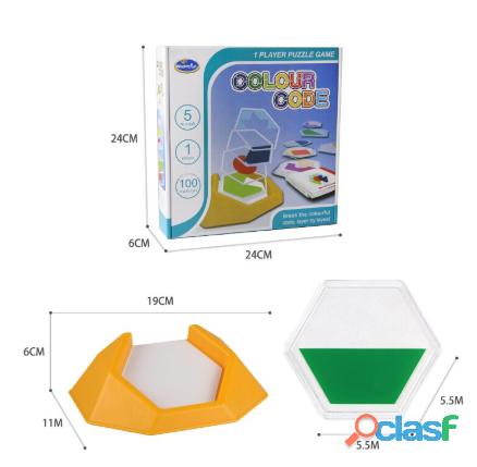 Rompecabezas juguetes para niños desarrollar habilidades de pensamiento espacial 2