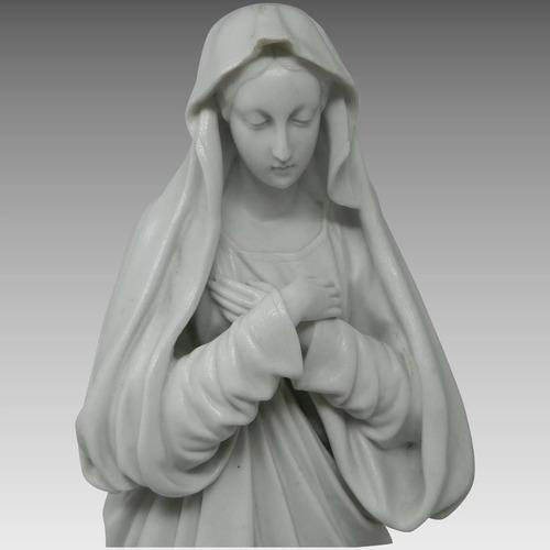 Antigua estatua grande virgen inmaculada concepción francia