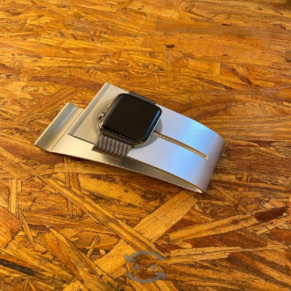 Apple watch 42mm safiro y acero inoxidable