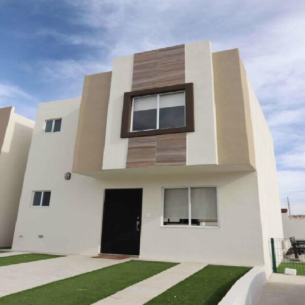Casa nueva en venta de 3 recámaras en residencial viñas