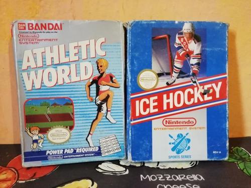 Increíbles juegos nintendo nes en caja de colección!!!!