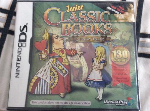 Juegos nds 3x2 junior classic books & fairy tales sellado