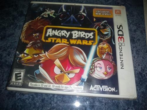Nintendo 3ds video juego angry birds star wars nuevo sellado