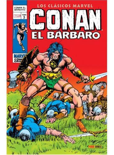 Panini comics los clásicos de conan el bárbaro n.3