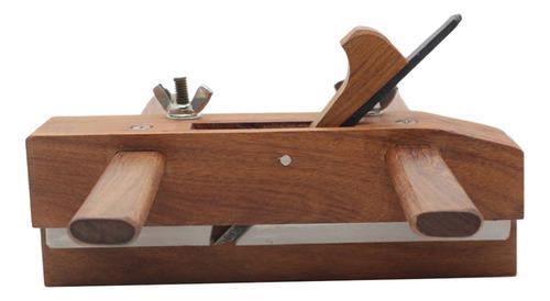 Rosewood y acero de alta velocidad ranura del plano de la