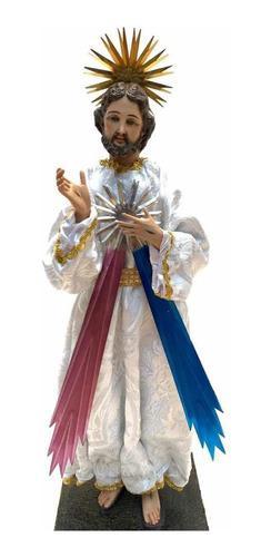 Señor de la misericordia 40cm escultura para vestir brazos