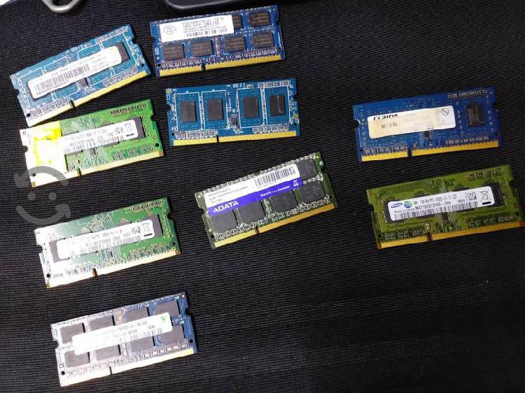 Ddr3 rams 9 memorias laptop