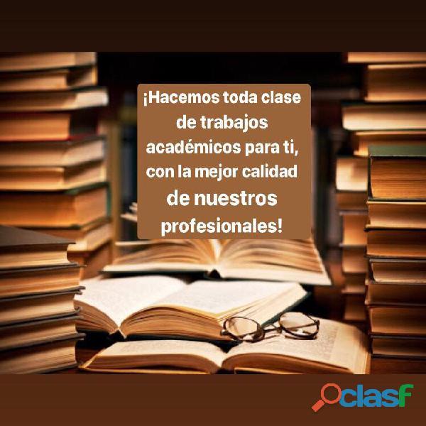 Asistencia académica y profesional