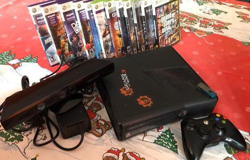 Consola xbox 360 250gb con kinect vendido